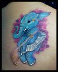 Elefant tattoo