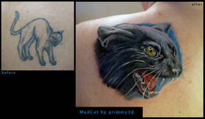 Mad Cat cover up