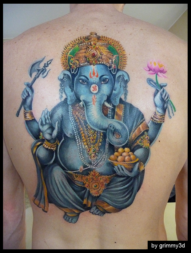 Ganesh tattoo tattoo designs for Ganesh tattoo pictures