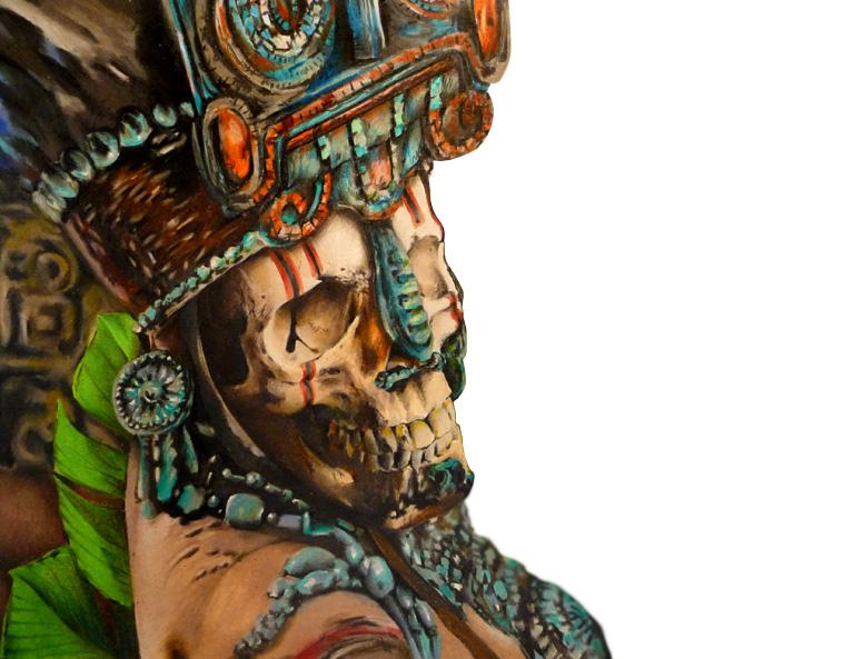 Maya priest WIP by grimmy3d