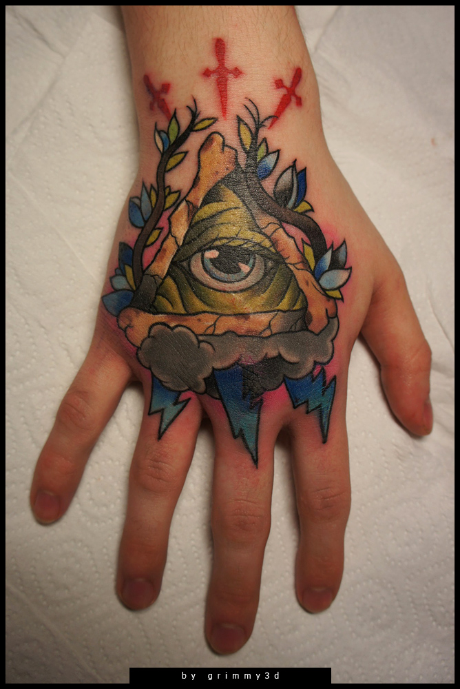 Hand With Eye Traditio...