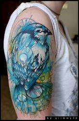 Bird by grimmy3d