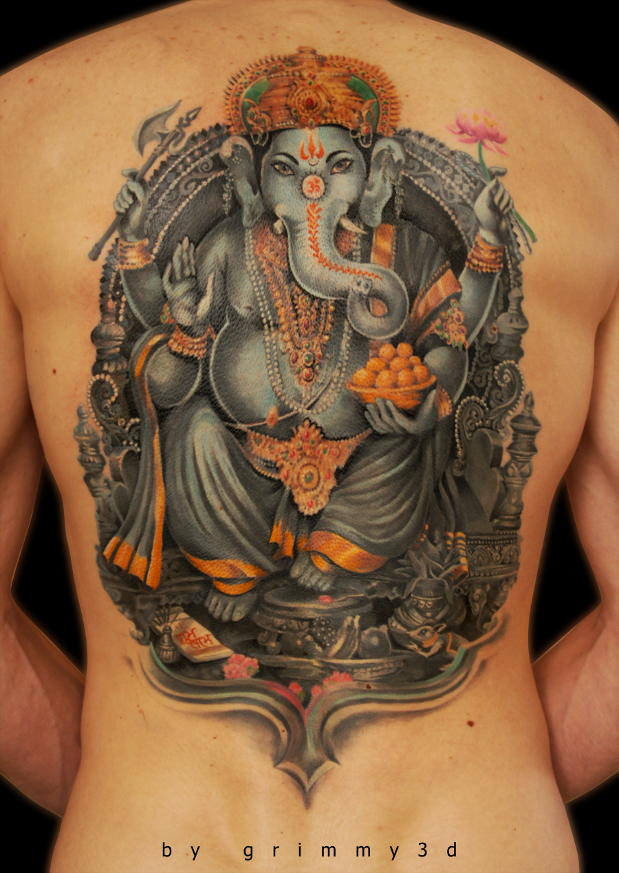 Ganesha FINISH by grimmy3d