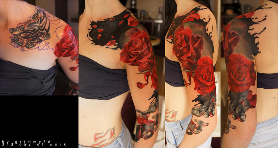 Roses 3 DAY by grimmy3d