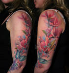 Magnolia Flowers added