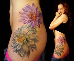 Flower Julia2a Sm by grimmy3d