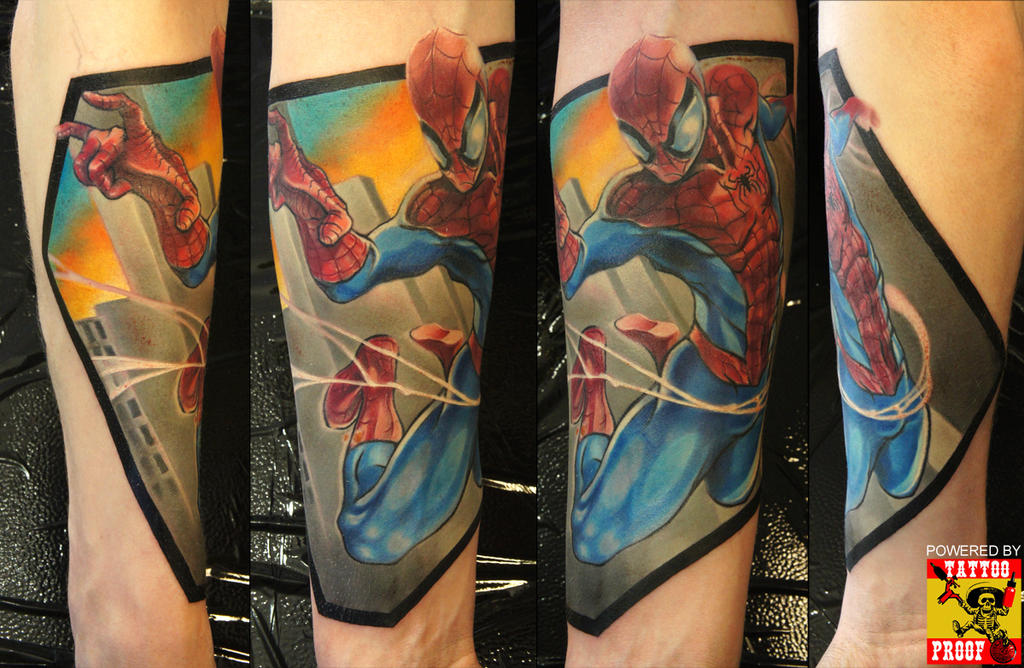 Spiderman FINISHED by grimmy3d