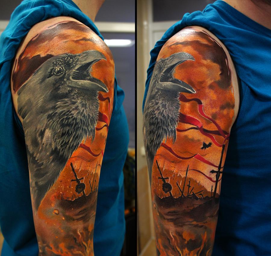 Raven battle field by grimmy3d