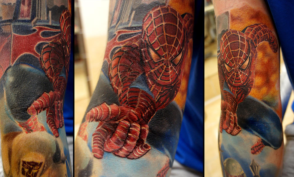 Spiderman by grimmy3d