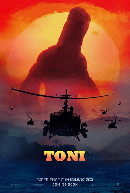 Toni Erdmann / Kong Skull Island cross poster by przezajac