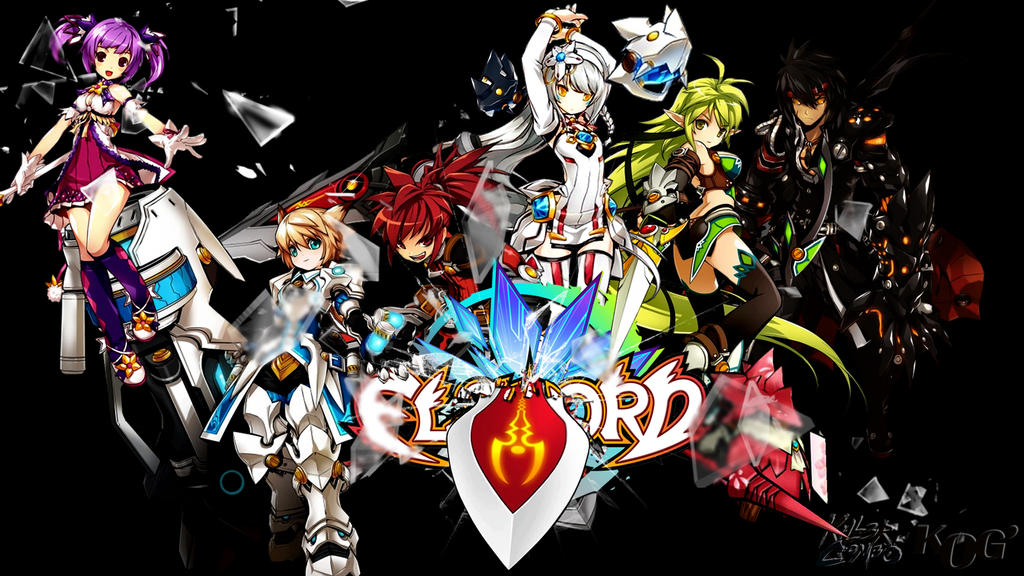 Elsword wallpaper by pouncingpandae on deviantart elsword wallpaper by pouncingpandae voltagebd Image collections
