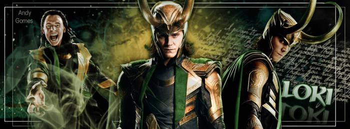Capa Facebook Loki by Andyjujubinha