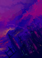 Purple Skies Are Awesome by Baorti