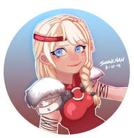 Astrid by SnowChanArt