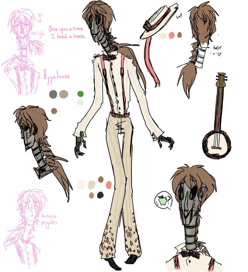 Appaloosa Ref by tricksterwolf13