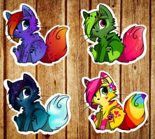 kitten adoptables~ CLOSED by vvyni