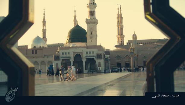 Saudi Arabia/Madina/Al-Masjid al-Nabawi