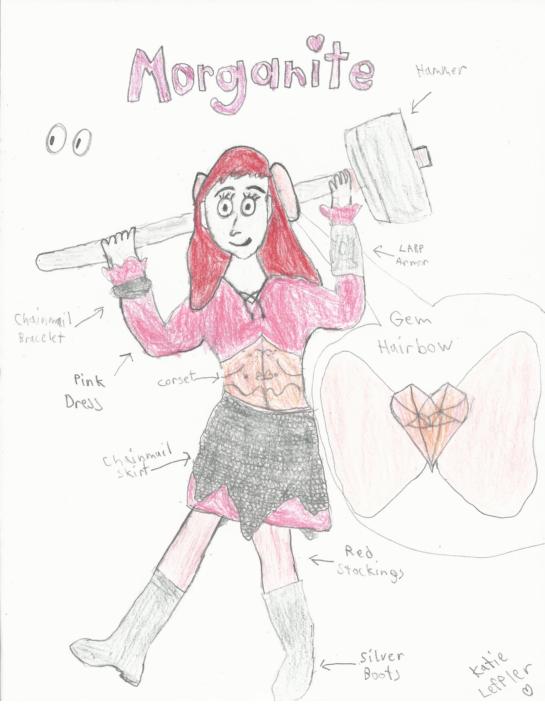 Morganite (Mo Mo O'Brien Gemsona) by Inufan330