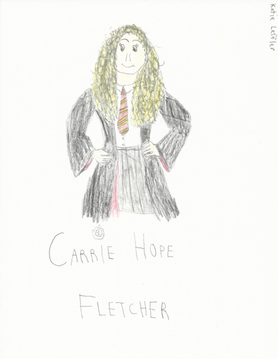 Carrie Hope Fletcher the Gryffindor by Inufan330