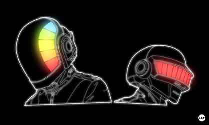 Daft Punk. by AlternateRaiL