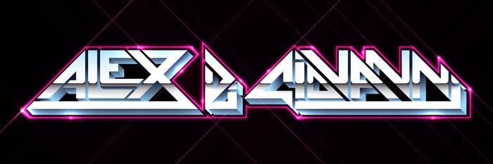 Retro Typography by AlternateRaiL