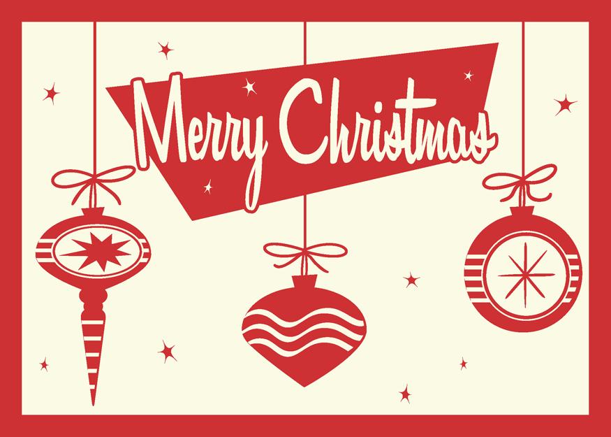 Retro Christmas Card by 66Robert on DeviantArt