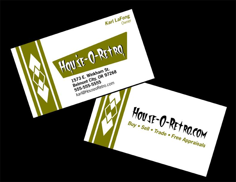 Retro Business Card Design: Bowling by 66Robert on DeviantArt