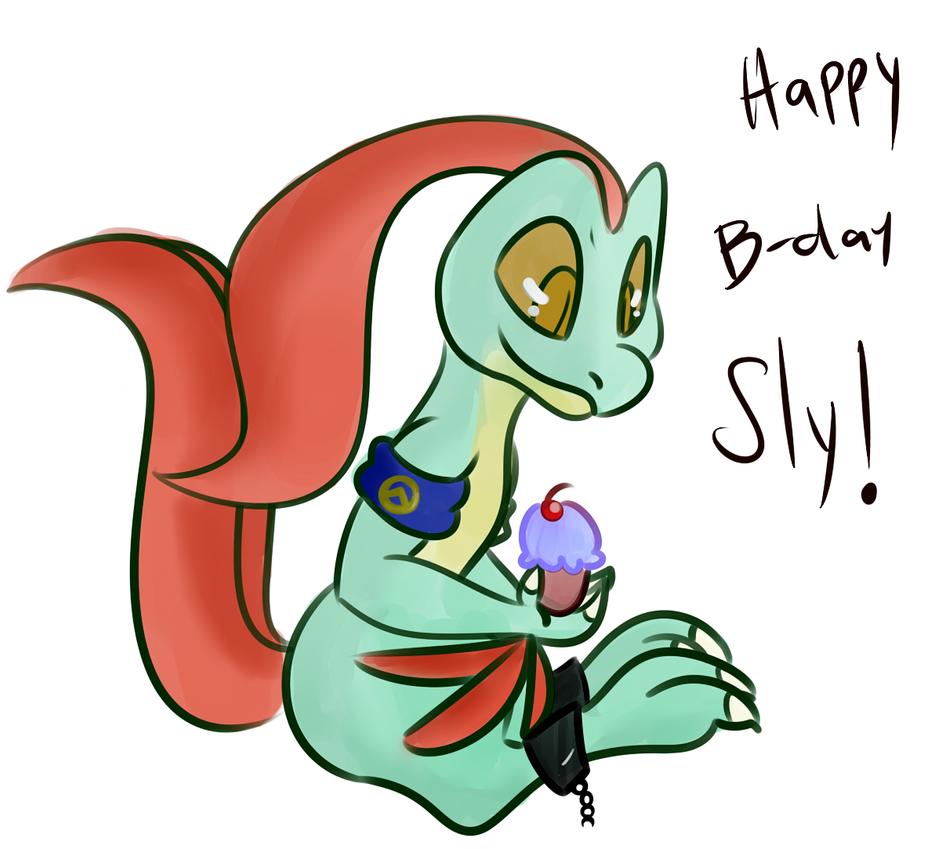 Happy B Sly by Kryshoul