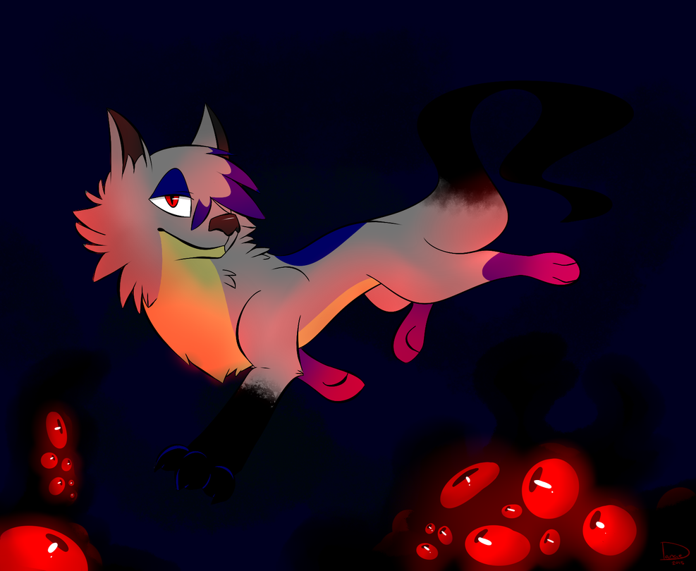 The Wolf shadow by Kryshoul