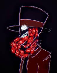 Black Hat terror by ZonnyBrown