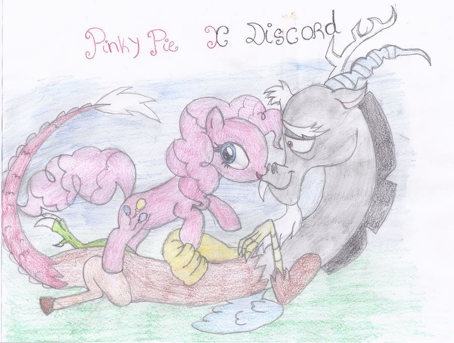 Pinky Pie X Discord by Shadilver-Eclipse