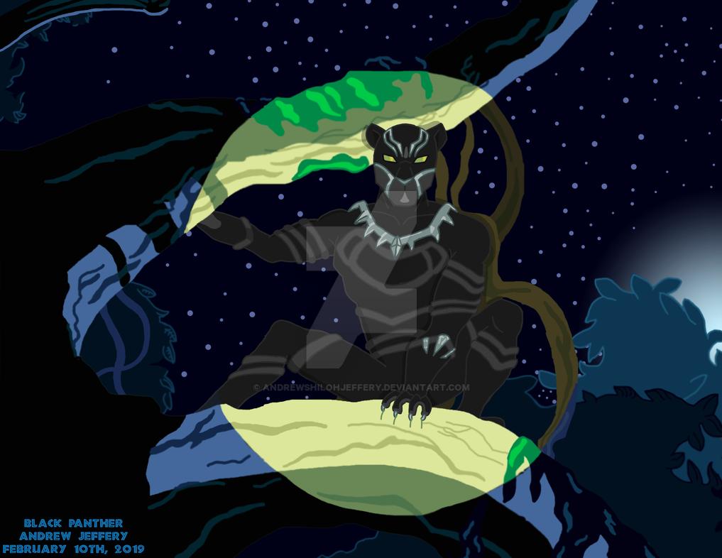 Black Panther Screenshot Challenge by AndrewShilohJeffery