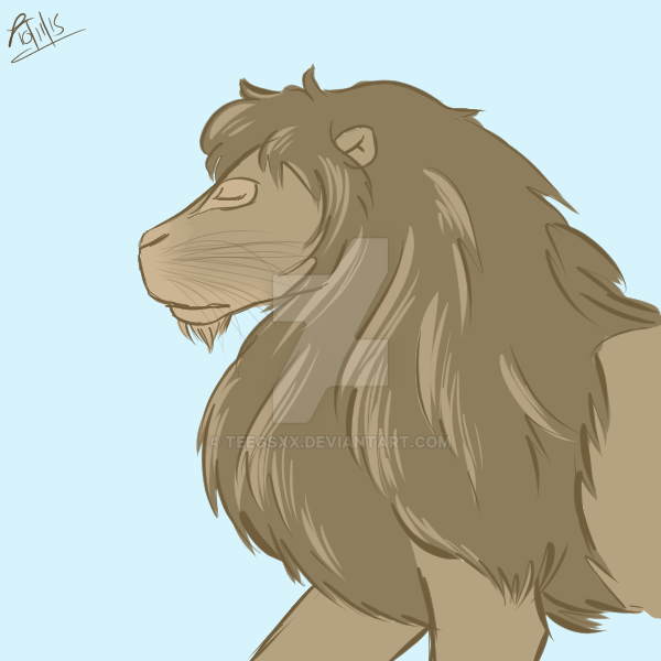 Lion by Teegsxx