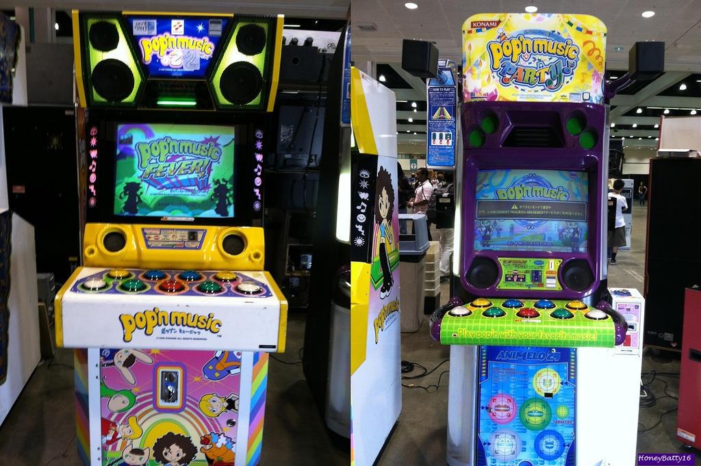 Pop n music arcades by honeybatty16 on deviantart