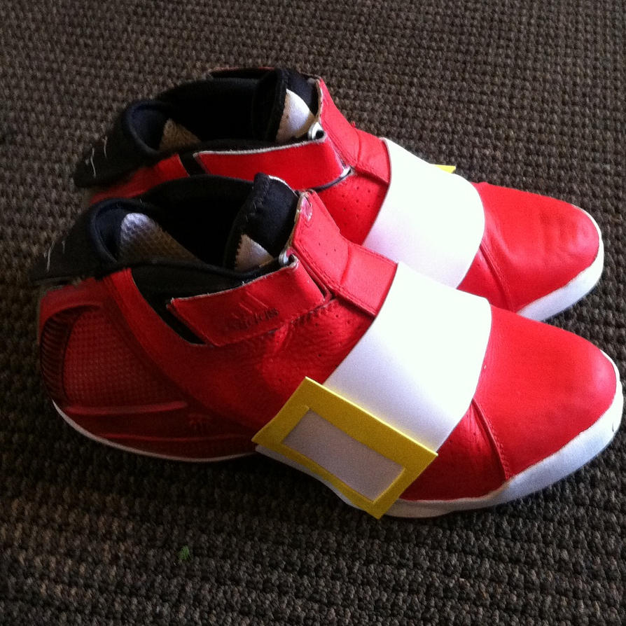 Nike Red Sonic Shoes For Sale