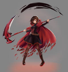 [Fanart] Ruby Rose by hellfire153