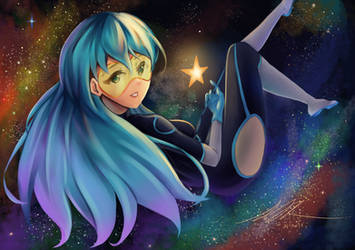 [C] Emi in Space by kwanfi