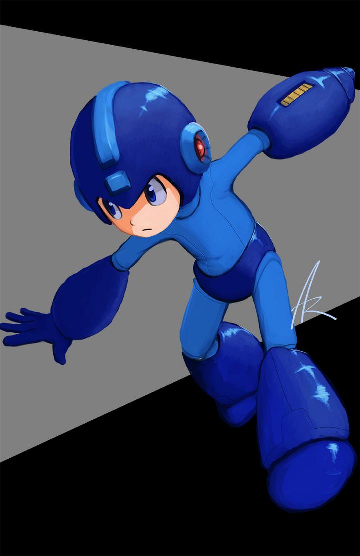 Blue Bomber by ShadowChild71
