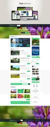 Alejakwiatowa.pl - website about gardens by DizzePL