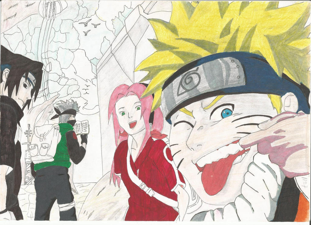 Naruto by BlankSorrow