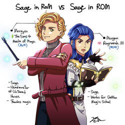 Sages (The Sims 4 vs Ragnarok M)