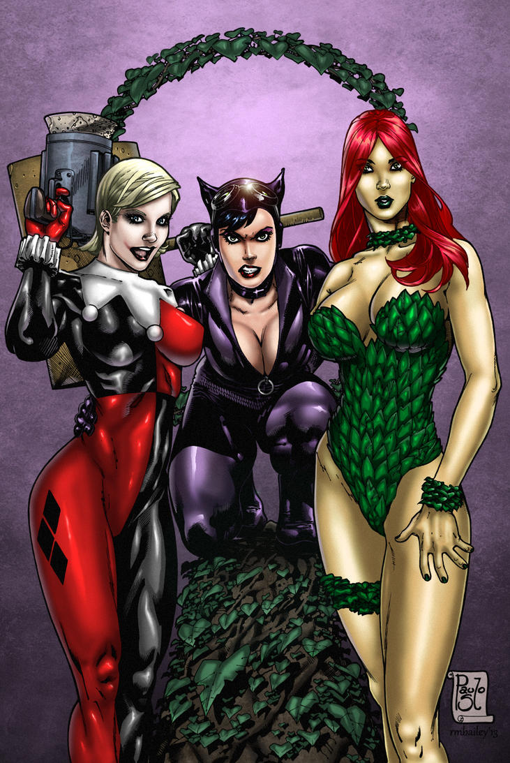 DC BAD girls by Paulo Siqueira and Me by richmbailey