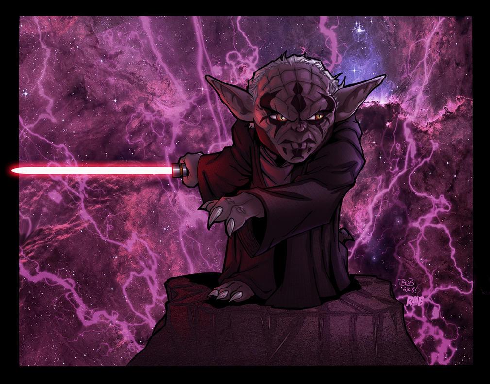 Darth Yoda by richmbailey