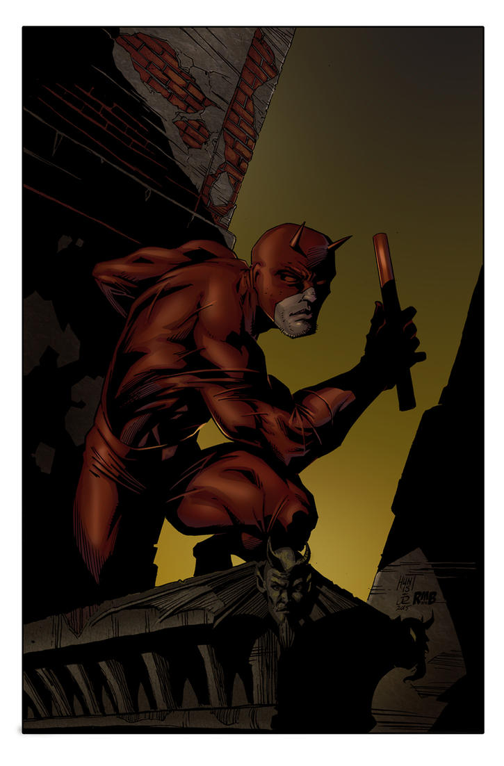 Daredevil by Ken Hunt by richmbailey