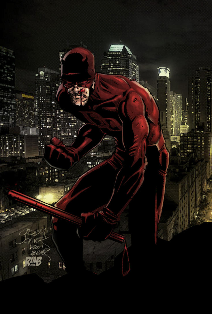 Daredevil by CaseyJonesDA Update 2015 by richmbailey