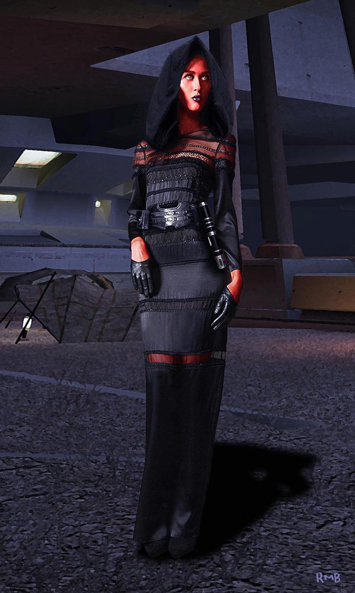 Jedi Detective - Darth Violentia by richmbailey