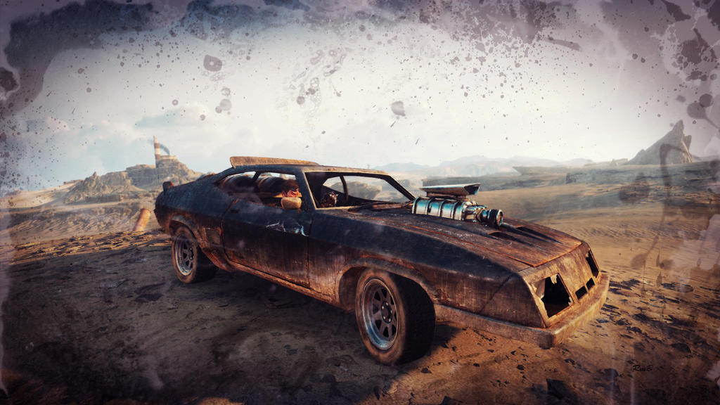 Car In Mad Max Game