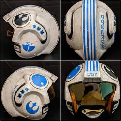Star Wars OT Helmet - Snap Wexley Inspired