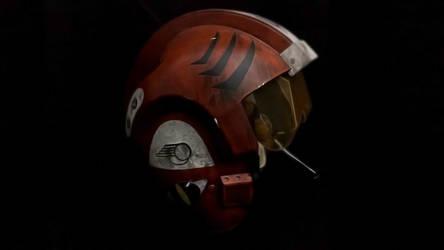 X-Wing Helmet Wallpaper - Red 4