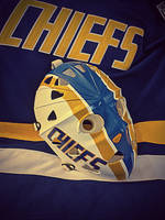 Vintage Charleston Chiefs Goalie Mask